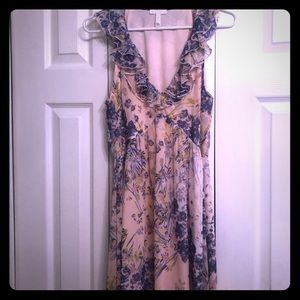 Leith high low floral dress